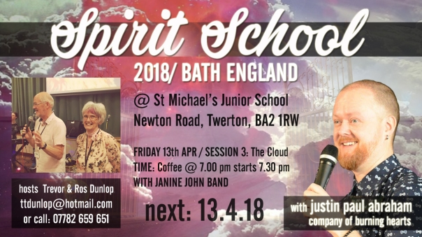 Bath Spirit School session 5 cloud