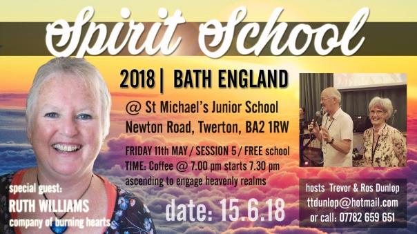 Bath Spirit School session 5 ruth