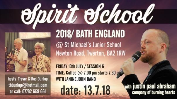 Bath Spirit School session 6